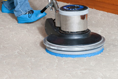 stretching carpets after cleaning