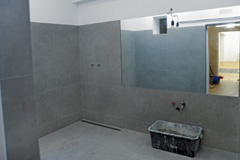 wet room installation Tanyfron